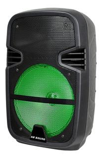 Parlante He-Sound HE-09P portátil inalámbrico Negro