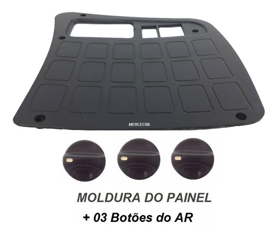 Moldura Do Painel C/ Botões Ar 1620/1718/2726/2324+ Original