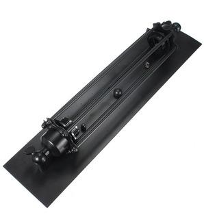 Placa De Pared Industrial Larga, Color Negro, Decorativa Ret