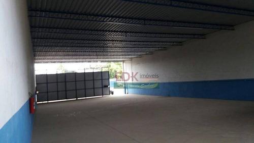 Imagem 1 de 8 de Galpão Para Alugar, 400 M² Por R$ 3.800,00/mês - Jardim Esperança - Jacareí/sp - Ga0154