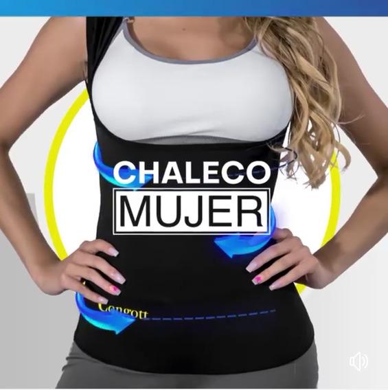 Chaleco Termoreductor Dos Vistas