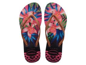 Chinela Havaianas Slim Tropical Paisagem Feminina Original