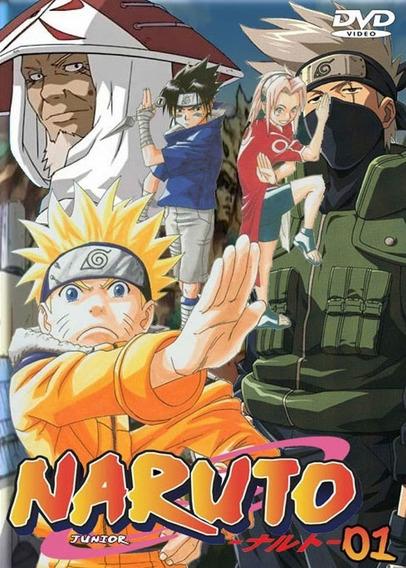 Naruto Clássico E Shippuuden (sem Capa Box. Vai No Envelope)