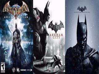 Pack De 3 Juegos Batman ~ Ps3 Digital Español