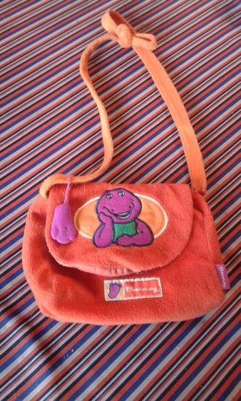 Cartera Barney /riñonera Dora La Exploradora. Originales