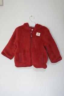 Campera Plush Osito Rojo Para Bebe - Leer Publicación
