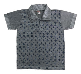 10 Camisa Infantil Polo Masculina Menino Roupas Atacado Top