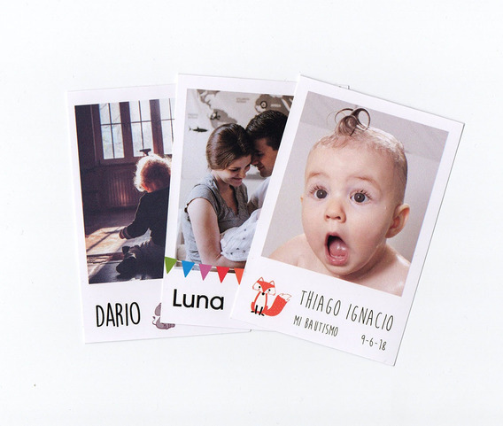 Fotos Polaorid Pack X20 Imanes Souvenir Personalizado 10x7