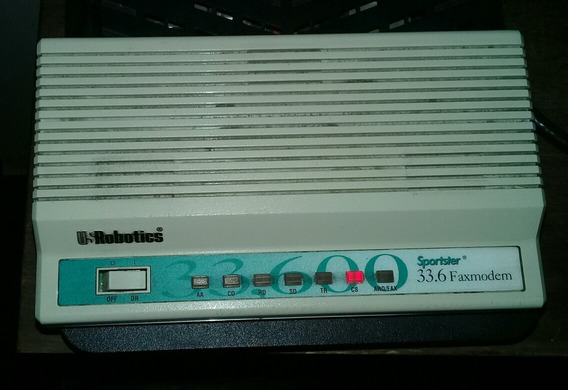 Modem Usrobotics Sportster 33.6 Faxmodem