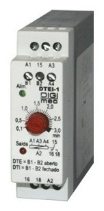 Temporizador Rele De Tempo Digimec 3 Seg Jtei-1 24/110/220v