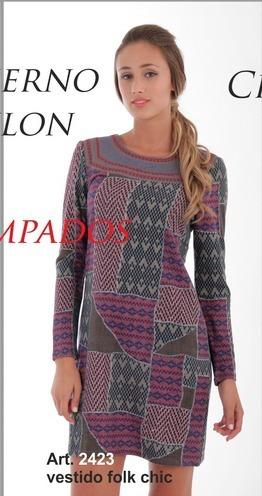 2423 Vanlon Vestido Folk Chic