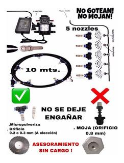 Kit Cabína Tunel Sanitizante Pulverizadores