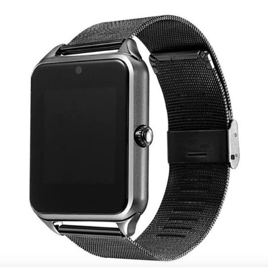 Smart Watch Bluetooth Pulseira De Metal Processamento Em 24h