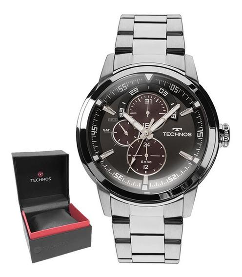 Relógio Technos Masculino Original C/garantia E Nf 6p57ad/1p