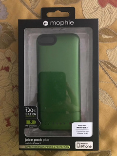 Forro Cargador Mophie Juice Pack Para iPhone 5s/5 20usd