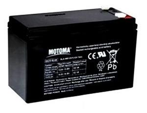 Batería Sellada Motoma 12 V 7 Ah Ups Alarmas Cercos Lámparas