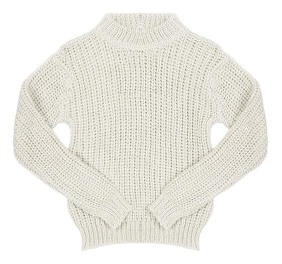 Sweater Margaret Lurex Cuello Redondo Niñas Complot