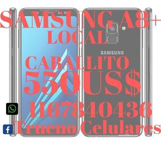 Celular Samsung A8+ Plus 32gb Libres De Fabrica