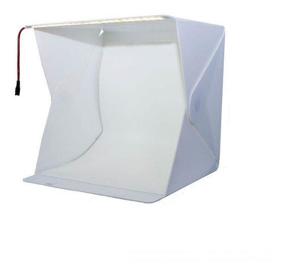 Mini Estúdio Fotográfico Portátil Iluminação Day Light Flash