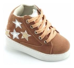 Sneaker Infantil Tênis Botinha Tênis Infantil Cano Alto Bebê