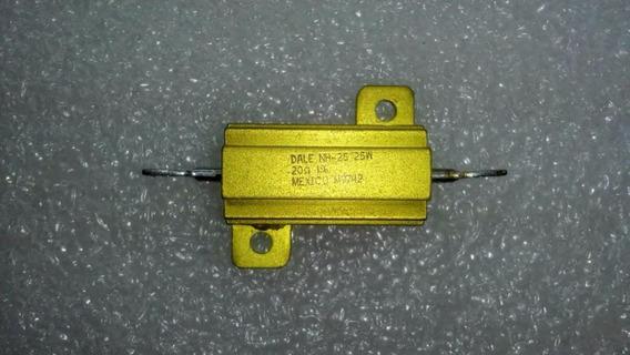 Kit 2 Resistor Dale 20 Ohm 25 W 1% Resistor Dale Nh-25 M9742