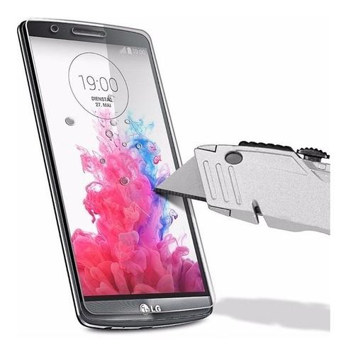 Lamina Mica Vidrio Templado Instalada iPhone Samsung LG Moto