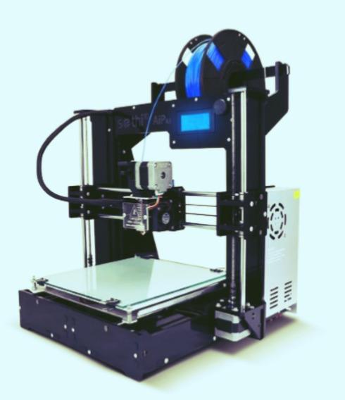 Impressora 3dSethi3d Aip + Kit Espátula E Pinça + Pla, Abs