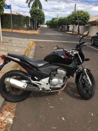 Honda Cb 300 R 2011 Preta Com Abs