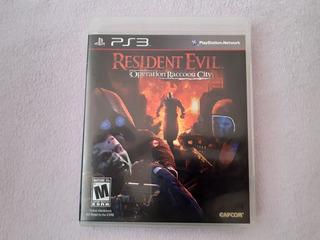 Resident Evil Operation Raccoon City Original Para Ps3