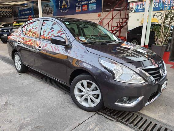 2017 Nissan Versa Advance 1.6l Aut Hierro