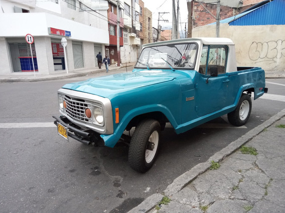 Venpermuto Jeep Comando Original 1972 Camioneta, Papeles Al