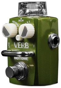 Pedal Guitarra Hotone Reverb Verb Srv 1,promoção!!!