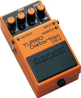 Pedal De Efecto Para Guitarra Boss Turbo Distortion Ds-2