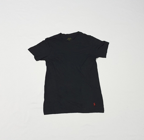 Playera Polo Ralph Lauren Chica Classic Fit Negro