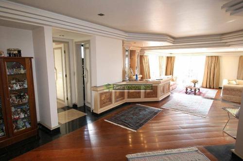 Apartamento Com 4 Dormitórios À Venda, 421 M² Por R$ 2.850.000,00 - Água Verde - Curitiba/pr - Ap0481