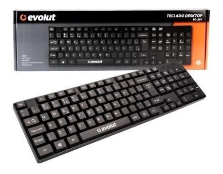 Teclado Gamer Com Fio Evolut Eg-201