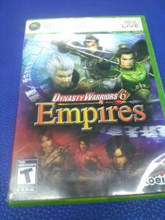 Dynasty Warrios 6 Empires De Xbox 360