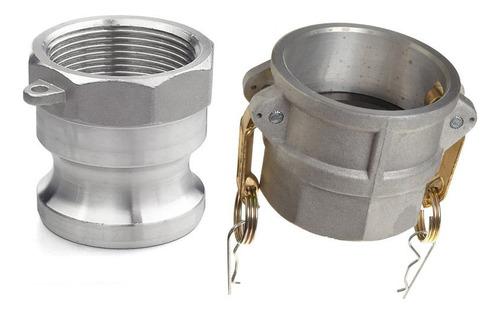 Acoples Rapidos A Y D 2 Pulgadas En Aluminio