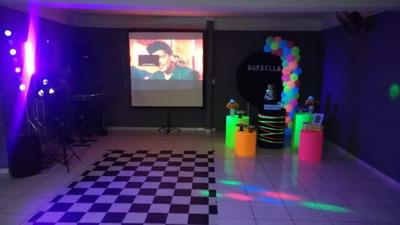 Dj Som Iluminação Telão Festa Casamento Fotos Stralla Nf Pj
