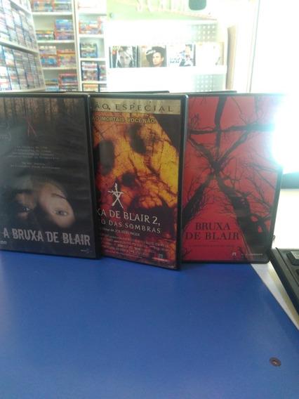 Bruxa De Blair 1 2 3 Dvd Original Usado