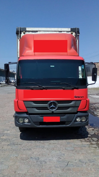 Mercedes Benz 1719 Ano 2012 Baú Saider 235 Mil Kms