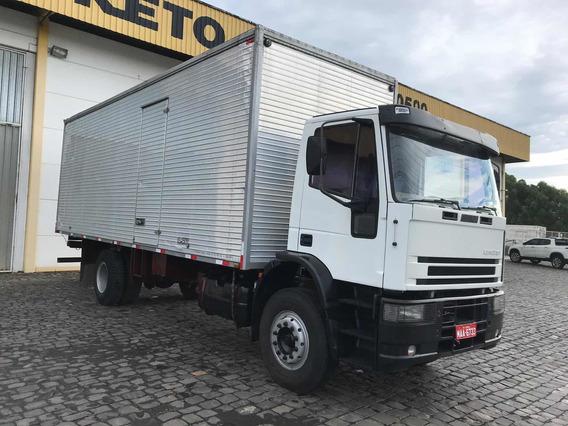 Iveco Tector 4x2 Bau 8 Mts Apenas 225.000 Km Original