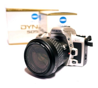 Máquina Fotográfica Slr Minolta Dynax 505si + Af Zoom 28-80m
