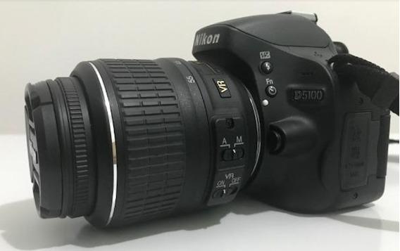 Câmeta Nikon D5100 + Lente 18:55mm