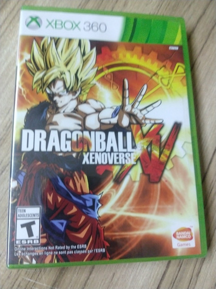 Dragon Ball Xenoverse Xbox 360 Lacrado