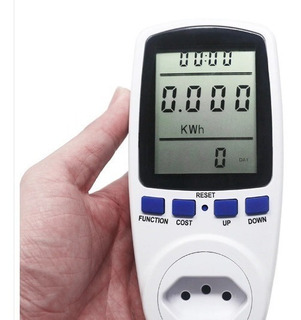 Wattimetro Digital Medidor De Consumo 110/220v Padrão Abnt.