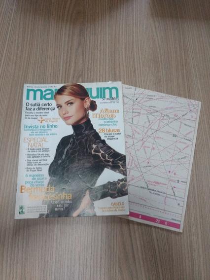 Revista Manequim 551 Aline Moraes Blusas Linho Lingerie Y501