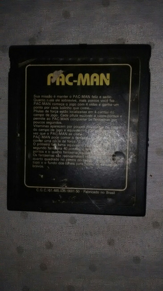 Cartucho Dismac Atary Pacman E Megamania Antigo