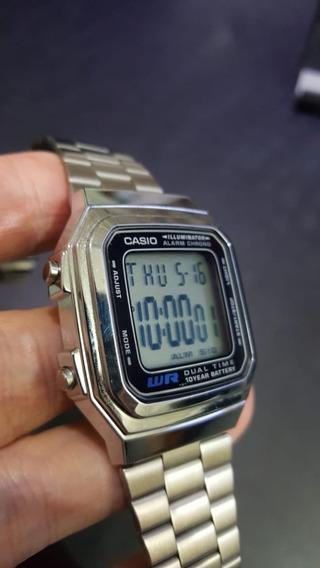 Relógio Casio Vintage A178w-semi Novo