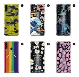 Funda Case Carcasa Protector Celular Samsung - Cover Co